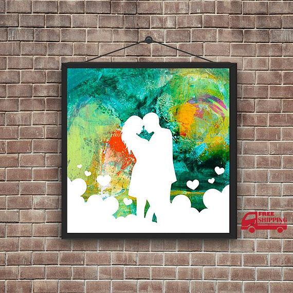 Painted By Yourself Custom Pop Art Valentine S Day Picture Custom Valentine S Day Gift In Loved Couples Personalized Custom Pop Art Pop Art Painting Pop Art