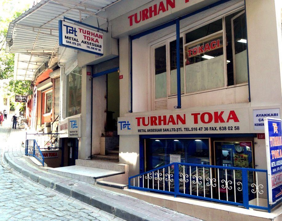 Turhan Toka Metal Aksesuar şu şehirde: İstanbul, İstanbul