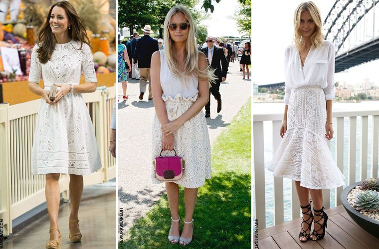 Summer dresses that fall below the knee
