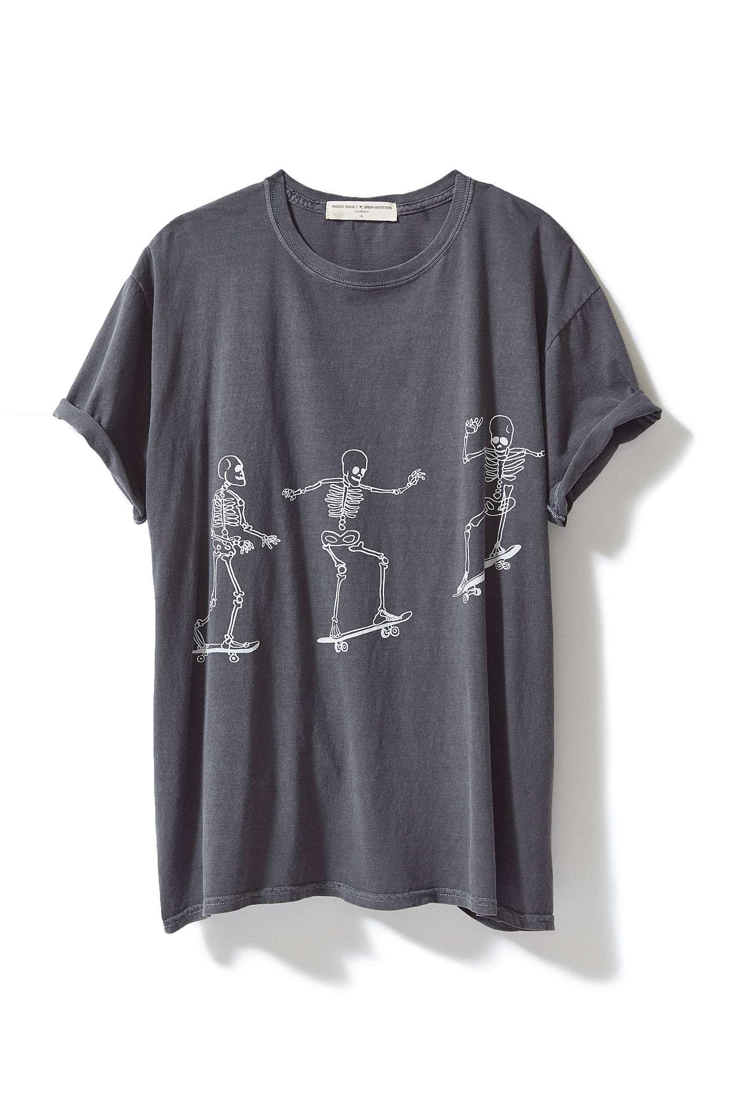 Project Social T Skateboard Skeletons Tee Skeleton Tees Project Social T Tshirt Outfits