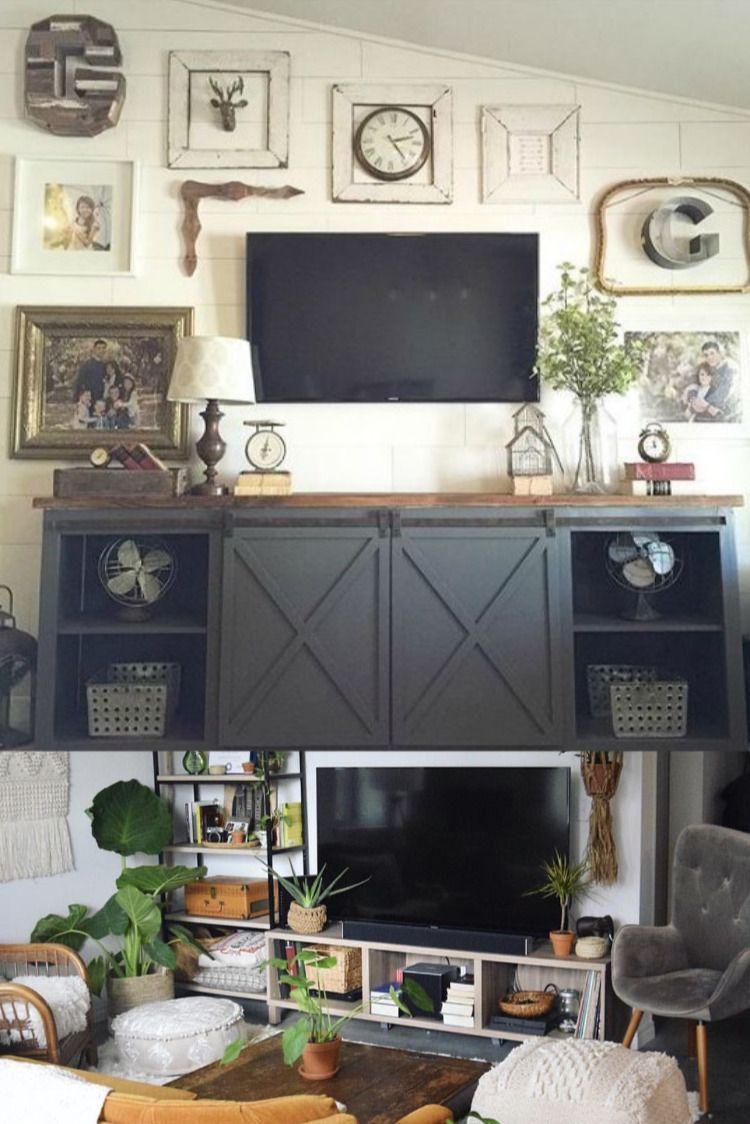 Living Room Tv Setups: Modern House Exterior Design Ideas In 2020