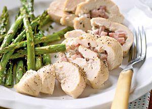 Pollo con esparragos recetas de cocina light comidas - Comidas sanas y bajas en calorias ...