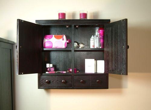 Photo Image small bathroom wall storage cabinet unit