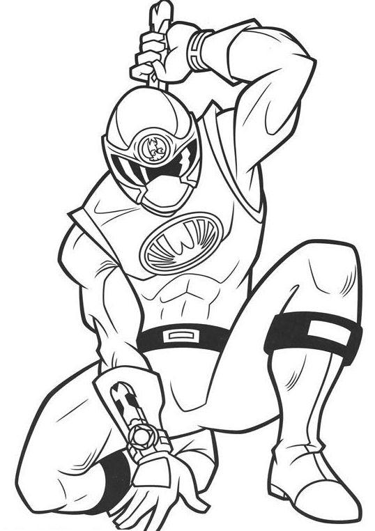 Power Rangers Ninja Storm Coloring Pages | Luke's power ...
