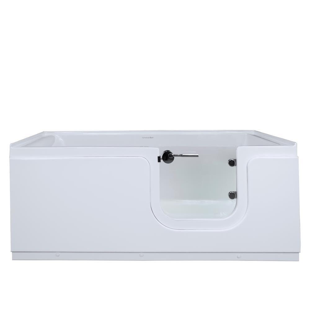 Homeward Bath Aquarite 5 Ft Acrylic Freestanding Step In Air Bath
