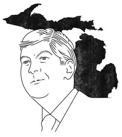 Rick Snyder, Michigan