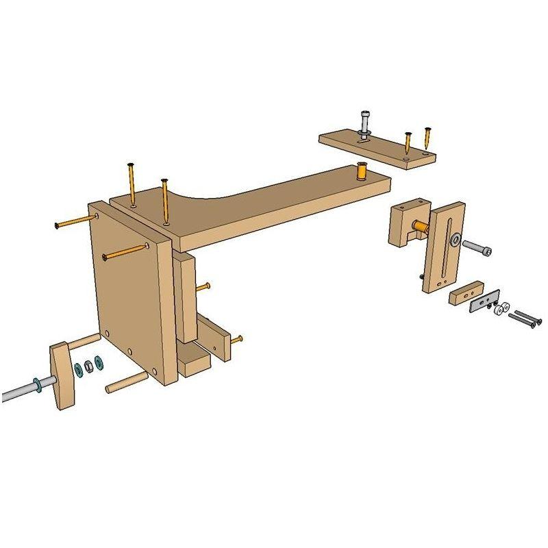 Un taller de carpinter a port til para los que ten is poco for Garaje portatil