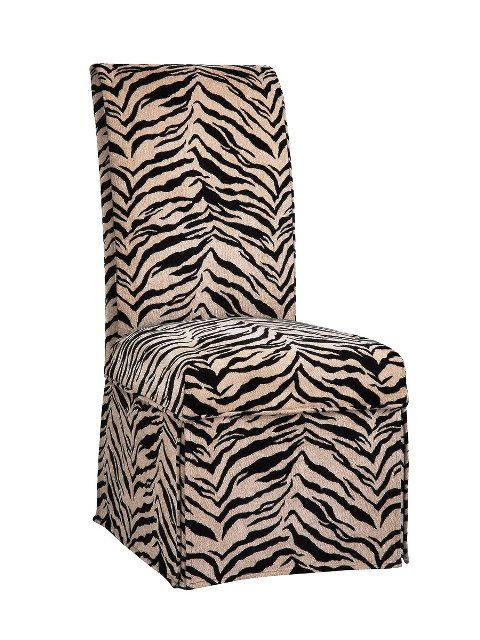 Parsons Chair w/ zebra
