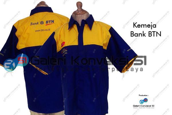 Kemeja Bank Btn Konveksi Kemeja Dresses Fashion Dan Bandung