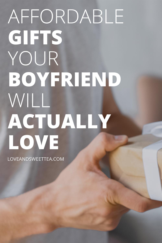 Creative Birthday Gifts for Your Boyfriend (or Husband!) #sweetestdaygiftsforboyfriend