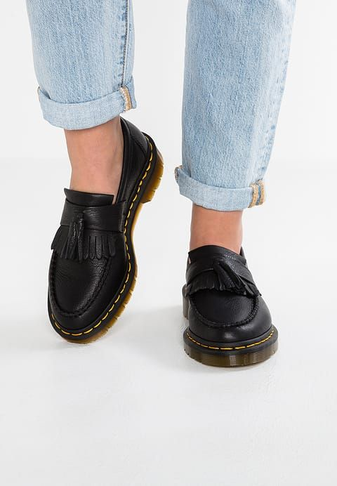 website for discount outlet online latest fashion Chaussures Dr. Martens ADRIAN VIRGINIA - Mocassins - black ...