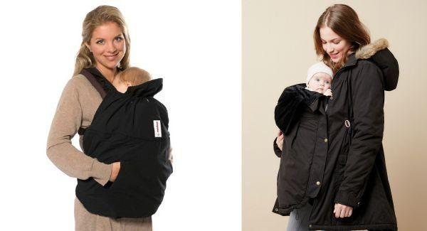 Jacke mit babytrage einsatz