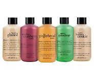 philosophy taste of holiday 3-in-1 shower gel 5 pc collection - A228906