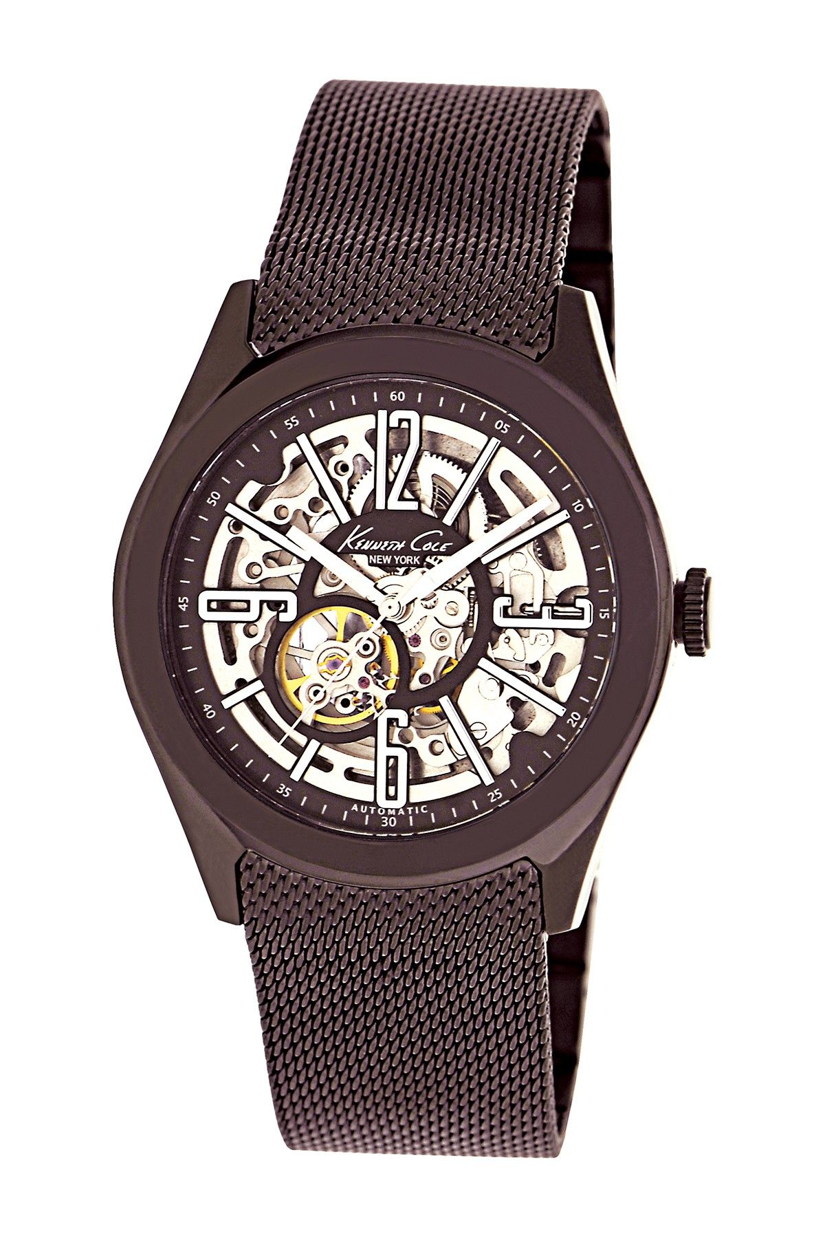 f7672ef1f3e8 Men s Skeleton Purple Watch