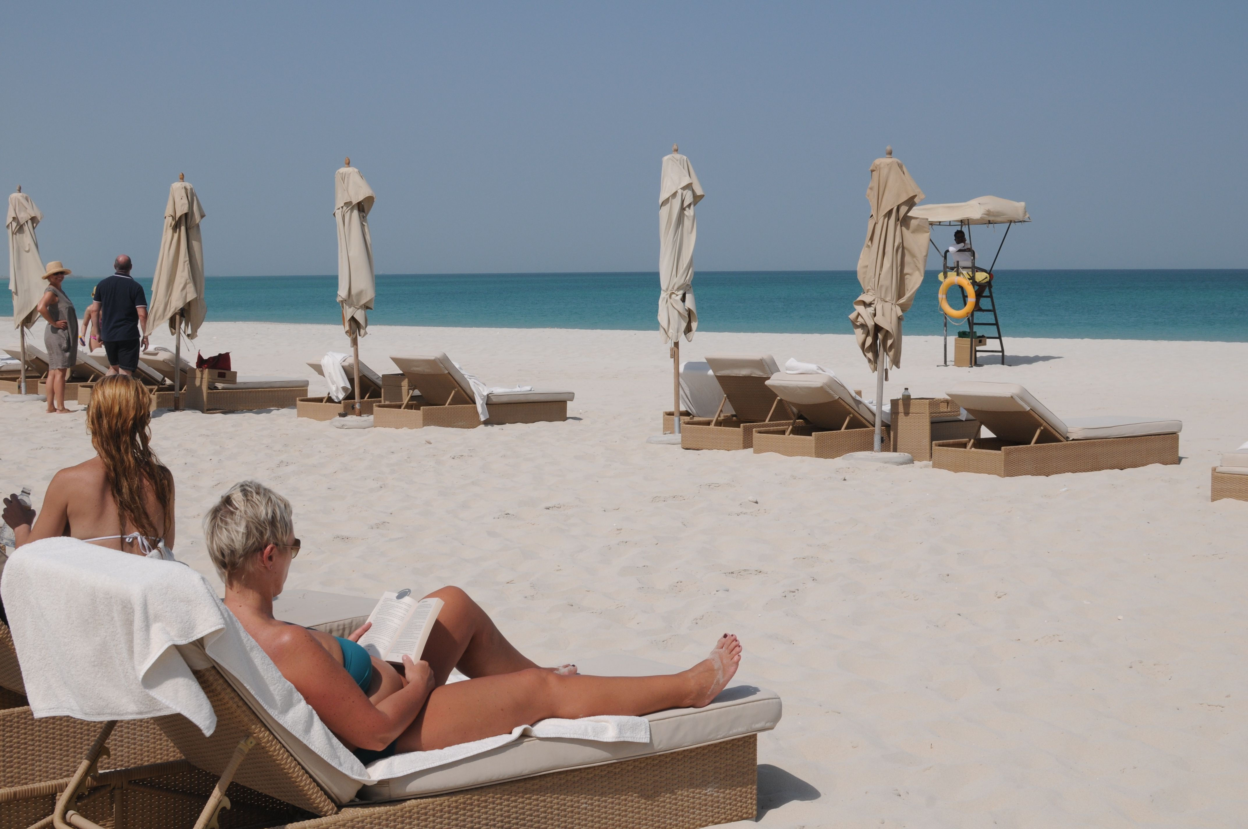 Park Hyatt Abu Dhabi Hotel And Villas Private Beach