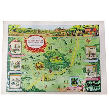 Modern Jelly: Robin Hood Map Litho, at 20% off!