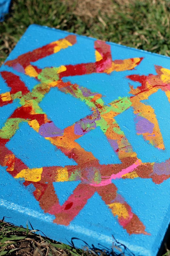 Garden Art Ideas For Kids resist art stepping stones | flag stone and gardens