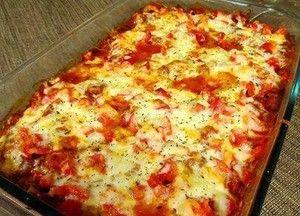Zucchini Pizza Casserole (From Chef Ron Lock)