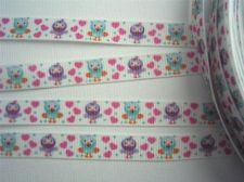 Hootabelle Ribbon from Giggle and Hoot Owl Ribbon 1m long