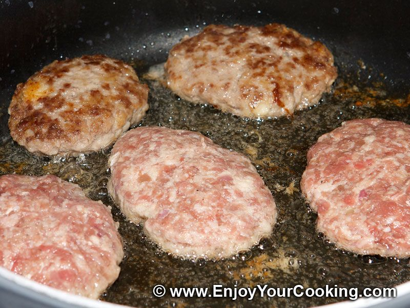 Minced beef cutlets recipe beef cutlets russian foods and minced beef cutlets recipe step 9 forumfinder Image collections