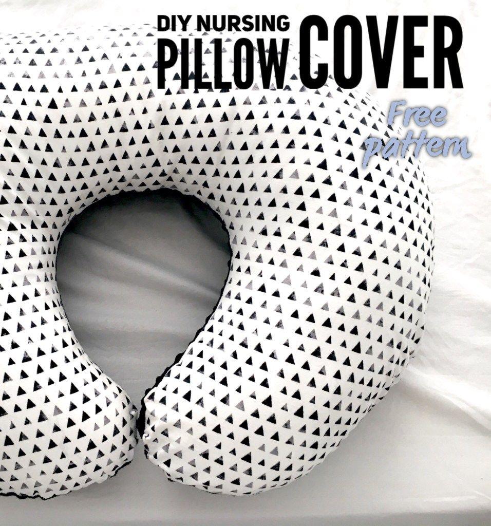 DIY Nursing Pillow Cover | Nähe und Babys