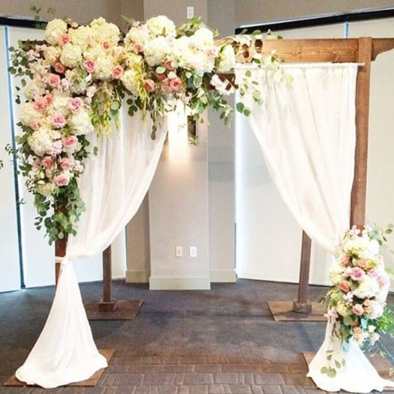 Cheap Artifical Silk Flowers Buy Quality Wedding Flower Decoration Directly From China Flower Wedding Arch Decoration Wedding Wedding Arch Wedding Decorations