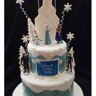 Frozen Themed Cake Frozen Princess Birthday Girl Party Theme