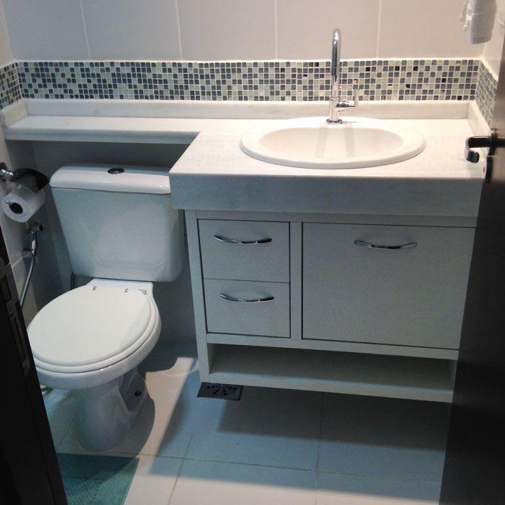 Meus Cachinhos Dourados Saga Meu Apê  Banheiro Minúsculo! Atualizado!  Boa -> Decoracao De Banheiro Com Vaso Sanitario Preto