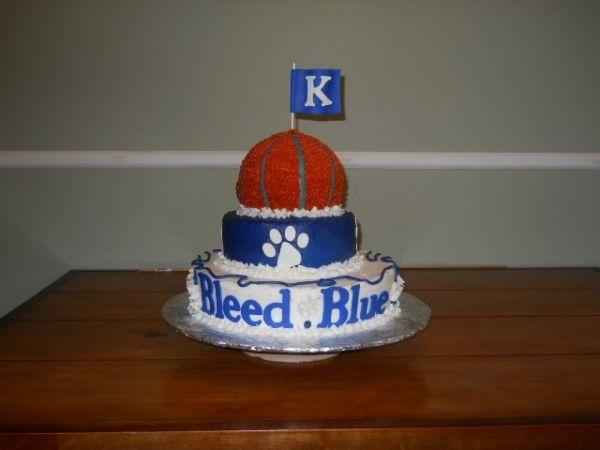 University Of Kentucky Cake Topper
