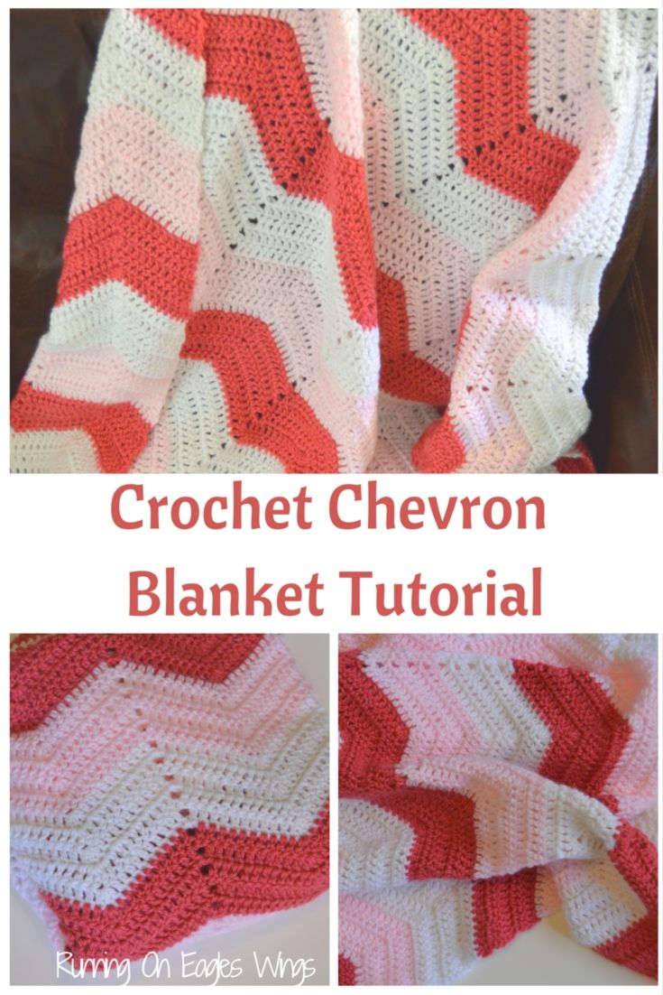 Crochet Chevron Blanket Tutorial Free | Projects | Pinterest ...