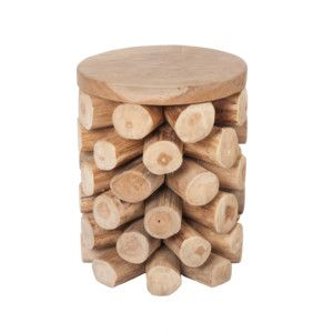 Stolík z teakového dreva Ove