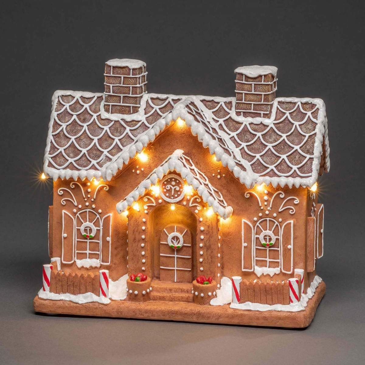Lamp Christmas Gingerbread House By Konstmide Christmas Brewing Lampe Weihnachten Lebkuchenhaus Von Konstmide Christmas Braun Le In 2020 Gingerbread House Designs Christmas Gingerbread House Gingerbread House Parties