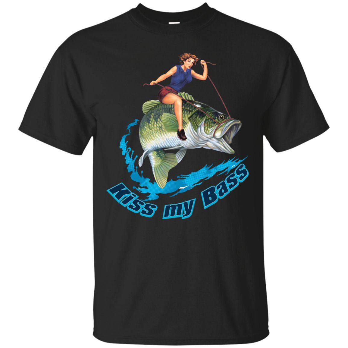 Kiss My Bass -Brunette Custom Ultra Cotton T-Shirt