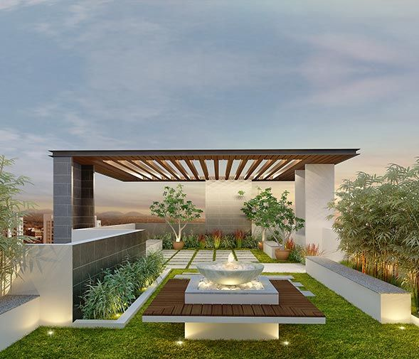 An Elegant Green Roof Of Your Residential/commercial Space