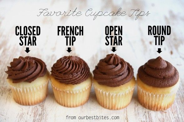 Great tips and tricks on how to frost cupcakes!!  via@ourbestbites.com
