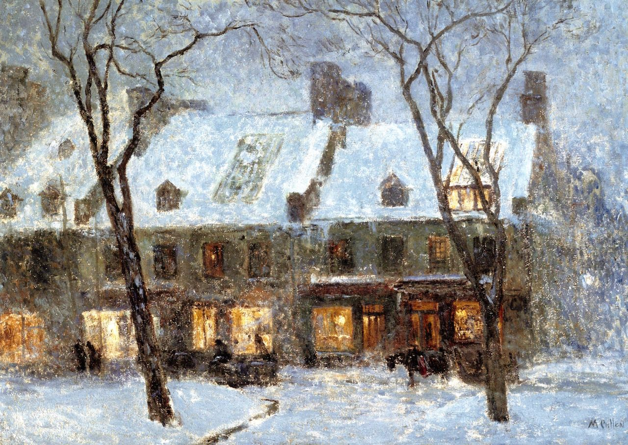Old houses montreal maurice cullen