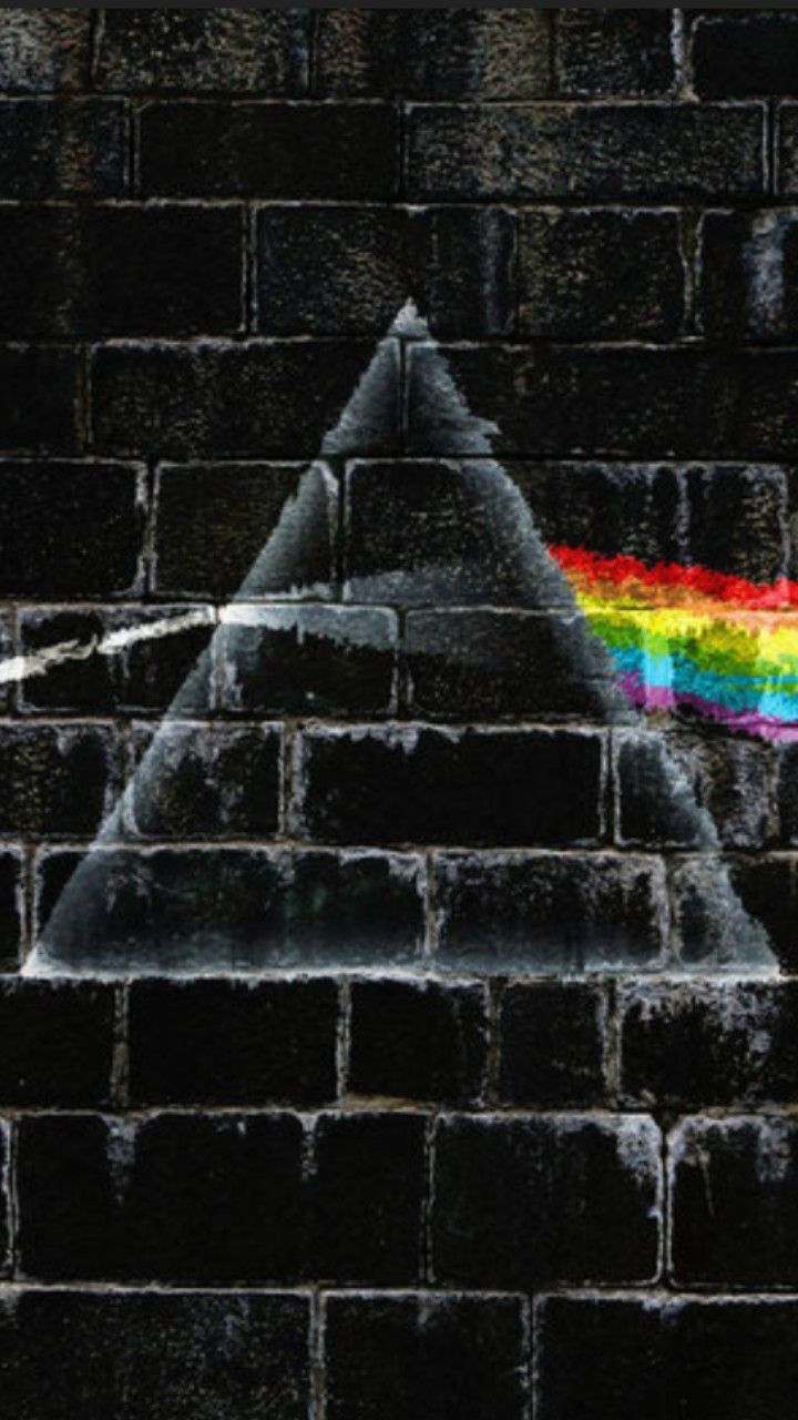 The Spirit Behind The Wall Pink Floyd Art Pink Floyd Wallpaper Pink Floyd Wall