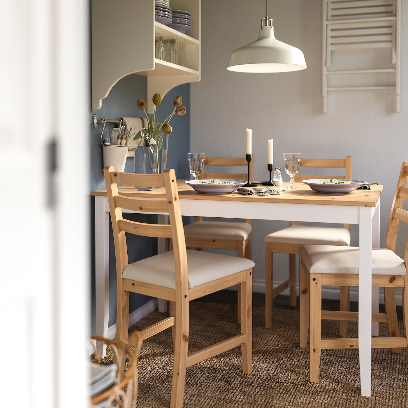 Lerhamn Table And 4 Chairs Light Antique Stain White Stain Vittaryd Beige Ikea Nel 2020 Sale Da Pranzo Piccole Idee Ikea Tavolo E Sedie
