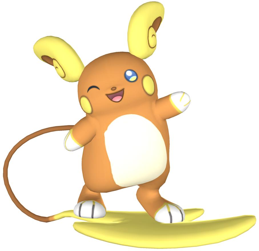 Alolan Raichu Render Sfm By Https Www Deviantart Com Arrancon On Deviantart Raichu Pokemon Cute Pikachu