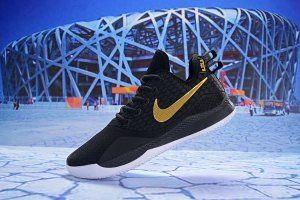 quality design 37b4d dbc4c ... get mens nike lebron witness iii 3 black gold basketball shoes 7efb7  aef41