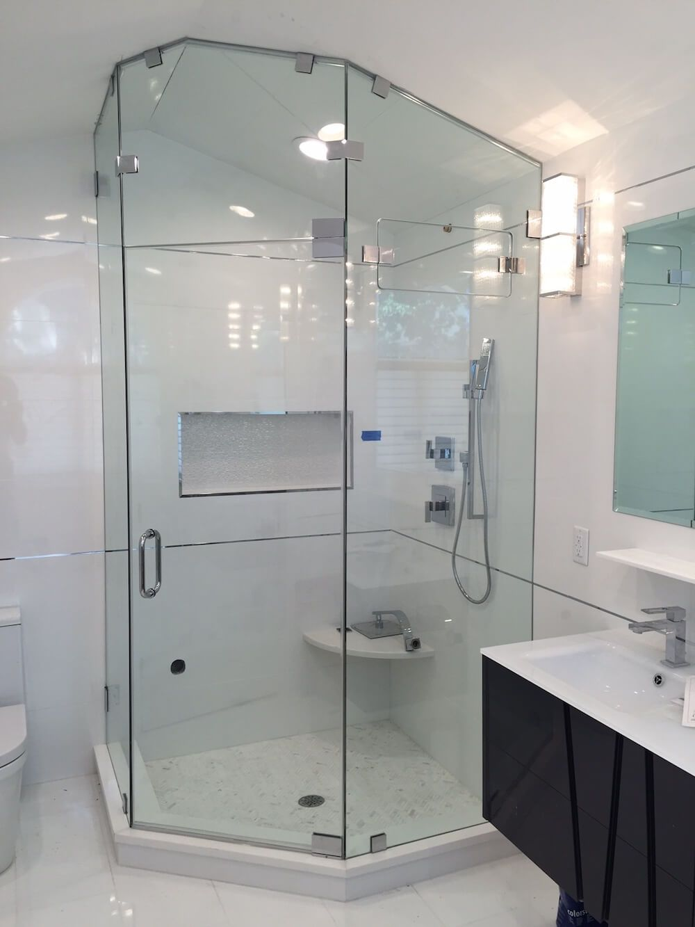 Custom Steam Shower Cost With Images Small Bathroom With