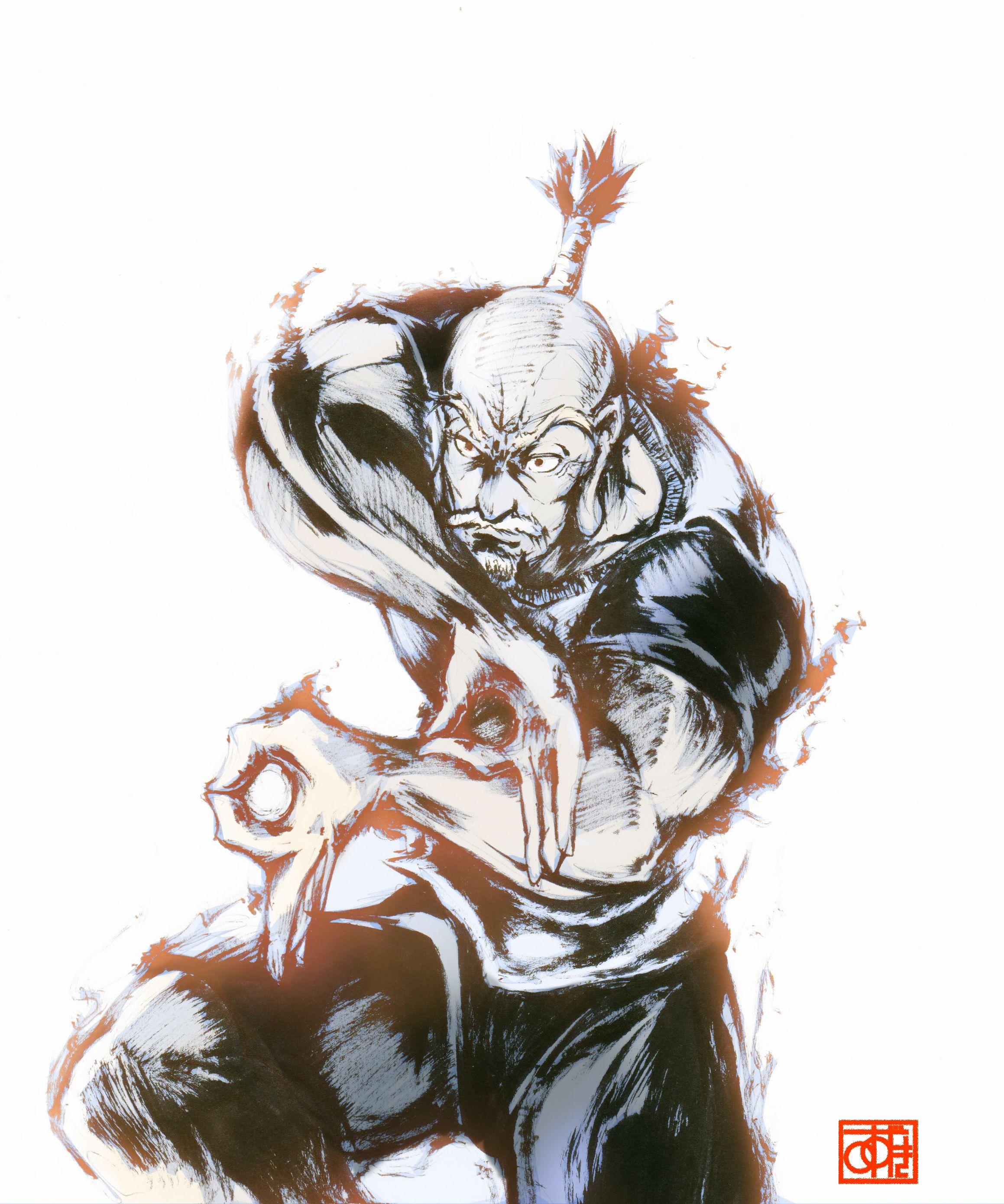 Isaac Netero Hunter X Hunter Personagens De Anime Anime Arte Anime