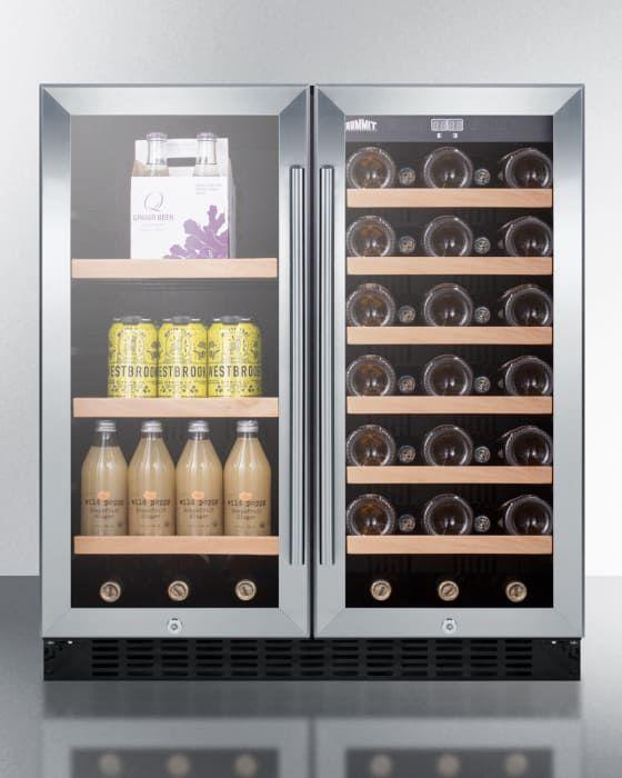 Summit Swbv3071 Built In Wine Refrigerator Wine Coolers Drinks Adjustable Shelving
