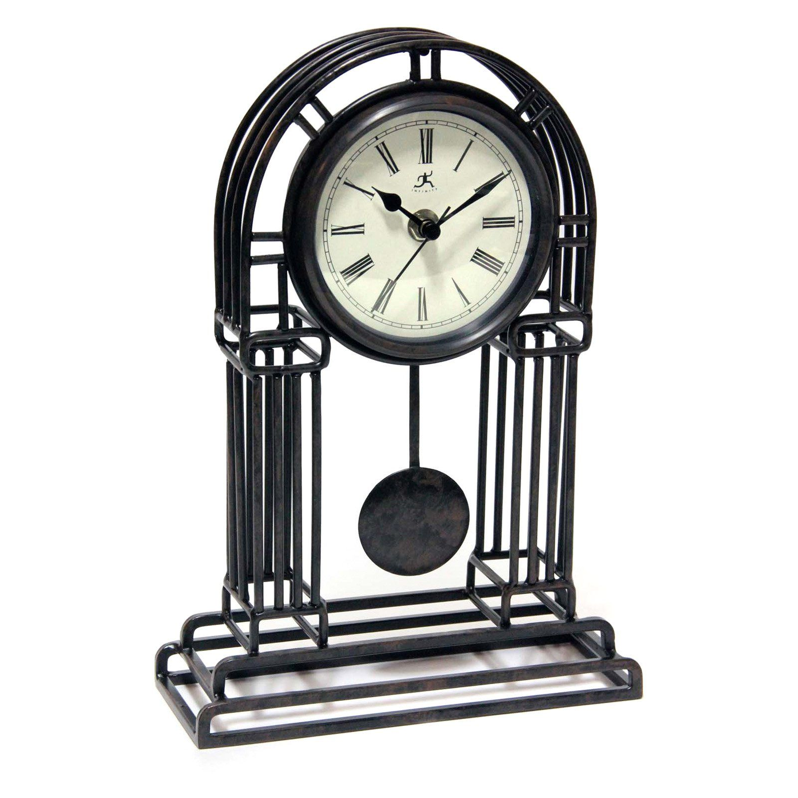 Infinity Instruments Cathedral Mantel Clock From Hayneedle Com