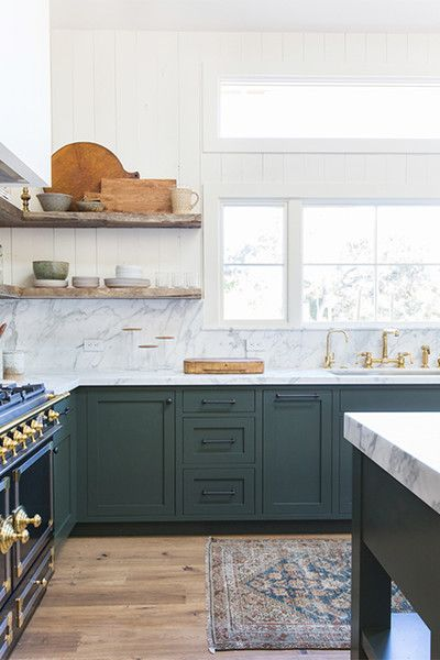 A Touch Of Gray Kitchen Cabinet Inspiration Home Kitchens Green Kitchen Cabinets