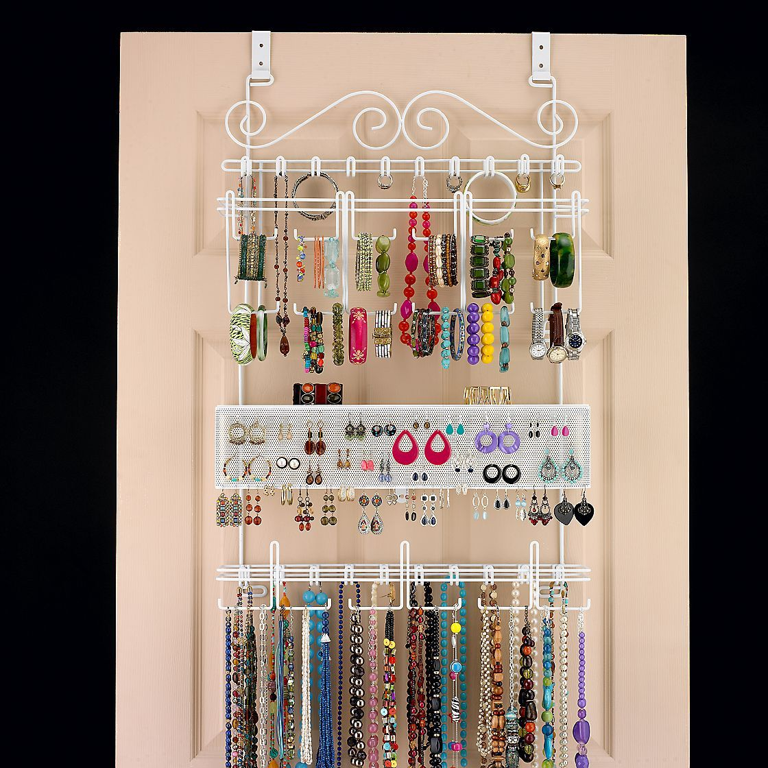 over the door jewelry storage!