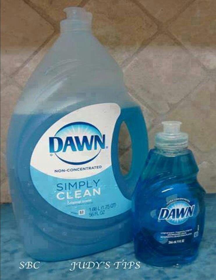 Simple tricks using Dawn dish soap Cleaning, Dawn dish