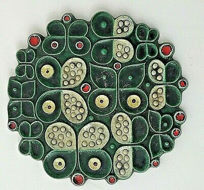 Britt-Louise (1928-2011) was one of Sweden's leading ceramic artists in the 20th century. She also worked with plastic and glass. Britt-Louise's artistry is represented at the Swedish National Museum of Art and Design.
