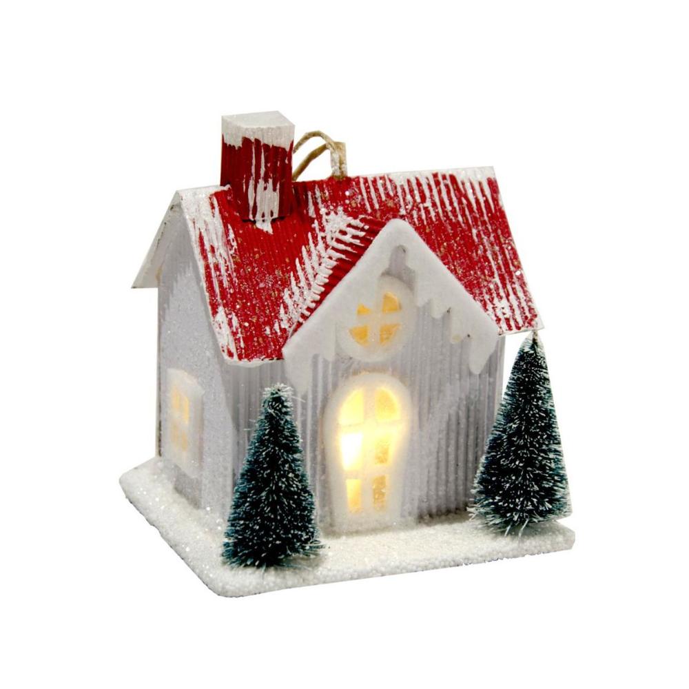 Domek Podswietlany Na Baterie 11 Cm Ceramiczny Swieczniki I Dekoracje Swiateczne W Atrakcyjnej Cenie W Sklepach Leroy Merlin In 2020 Snow Globes Decor Home Decor
