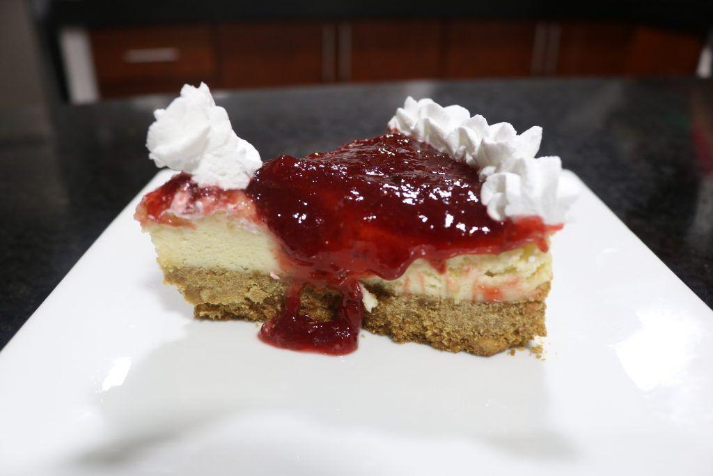 les dejamos la receta del cheesecake de sauco, esta es la vercion de los cheesec…